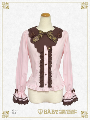 B45BL403 Strawberry Loves Chocolate Blouse
