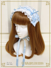 B45HA928 Ladder Lace Spin Doll Headdress
