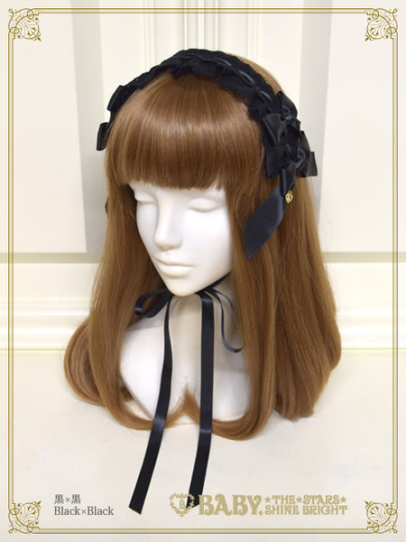 B45HA935 Ribbon Ribbon Drop Headdress