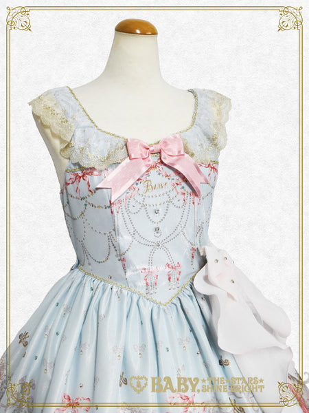 B45OJ202 Marie-Antoinette~Eternal Wish in Brilliance~Ribbon Jumperskirt