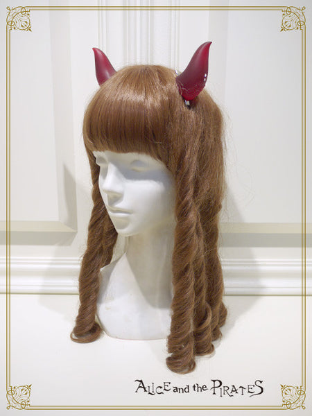 P12AC028 Devil Horns Hair Clip