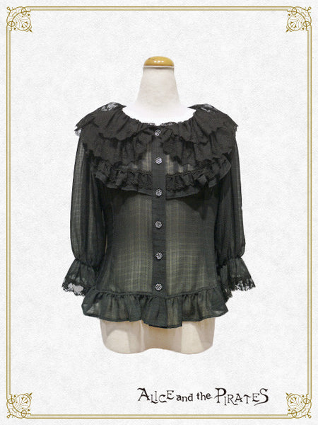 P12BL430 Sound of Rain of Love Blouse