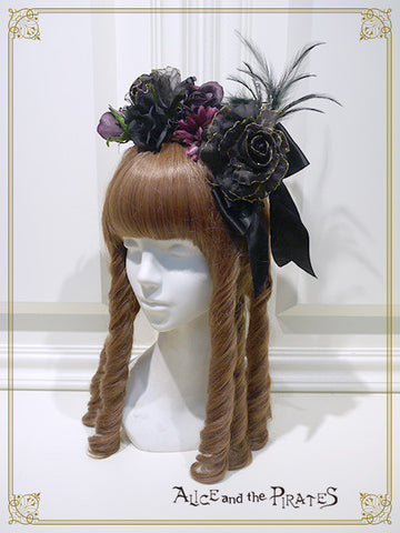 P12HA965 Wicked Bouquet Head Bow