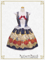 P12OJ297 Snow White's Patchwork Apples jumper skirt Ⅱ
