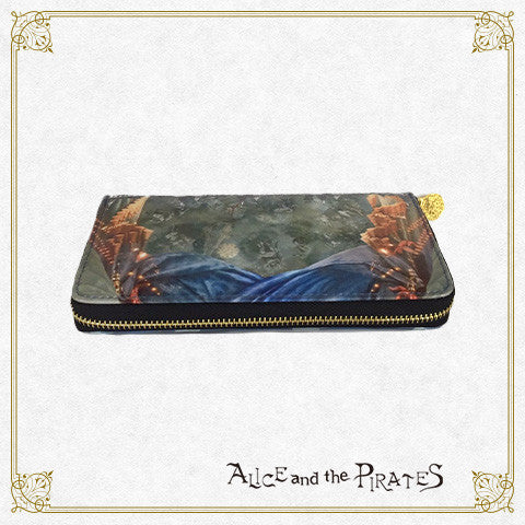 P12OT049 Starlit Sky Tent and the Secret Circus Troupe wallet
