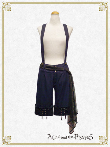 P12PT626	 Harlequin Scarf-belt Pants