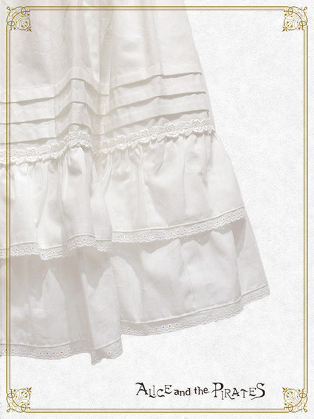 P12SK515 A/P Two-Stage Frill Petticoat