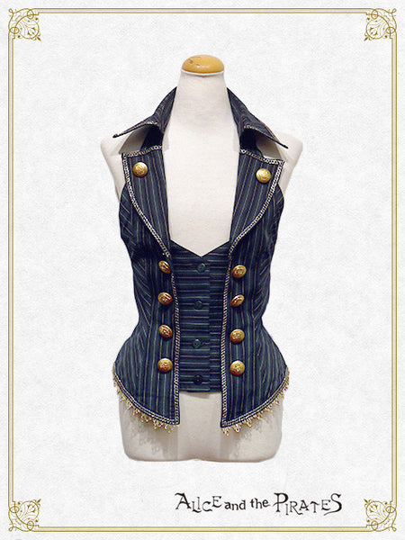 P12VT327 Regimental Stripe Vest