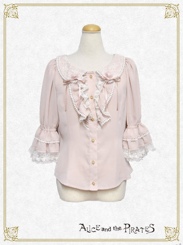 P13BL408 Alice's Butterfly Collar Blouse