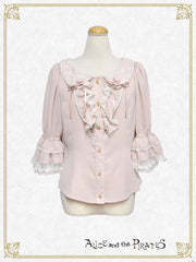 [RESERVATION] P13BL408 Alice's Butterfly Collar Blouse 【Second Release】