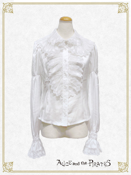 P13BL422 Cosette's Lace Collar Blouse