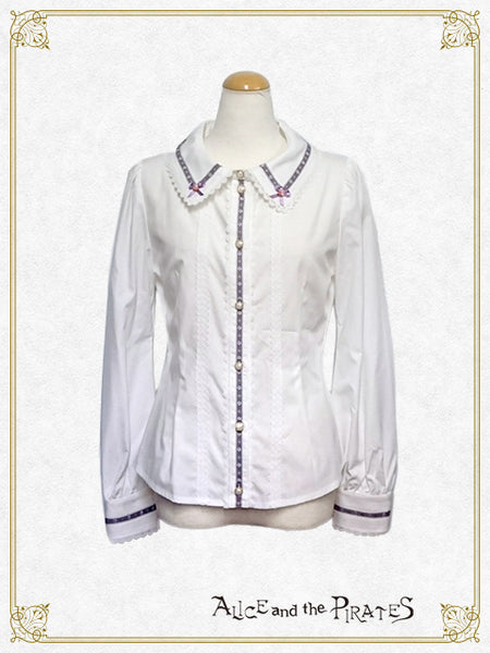 P13BL429 Château de Nounours ~Angel's Secret Winery~ Tyrolean Blouse