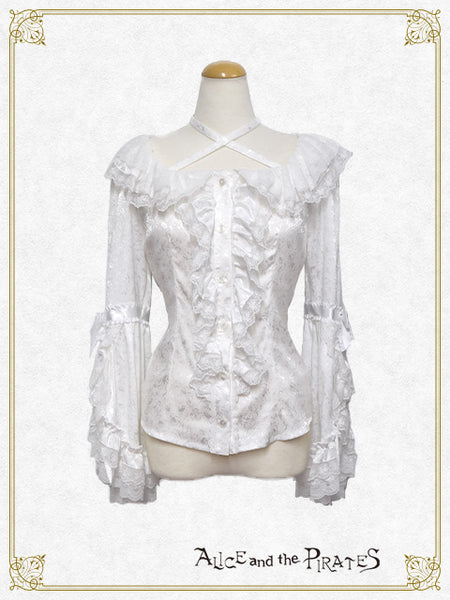 P13BL430 Ursule's Princess Sleeve Blouse