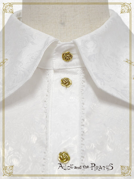 P13BL439 Allure the Butler and a Door of the Rose Rose Coffin Blouse