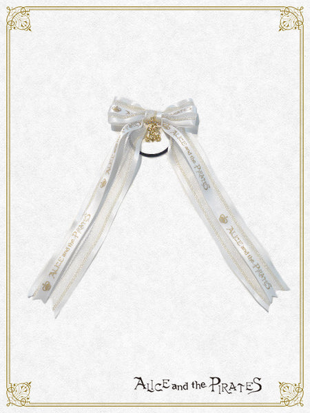 P13HA910 Logo Lucid Ribbon Hair Band
