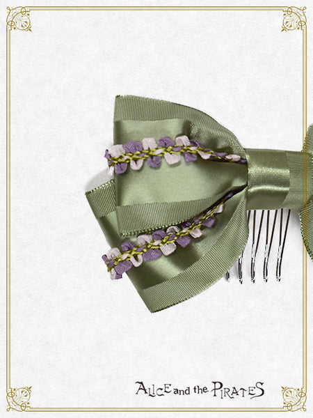 P13HA942 Winery Two Colors Ribbon Comb