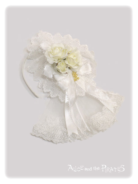P13HA947 Little Rose Headdress Headband