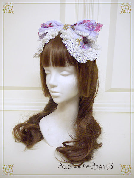 [RESERVATION] P13OH905 Alice and the Labyrinth of the Clockwork World Ribbon Headbow