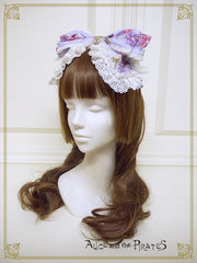 P13OH905 Alice and the Labyrinth of the Clockwork World Ribbon Headbow