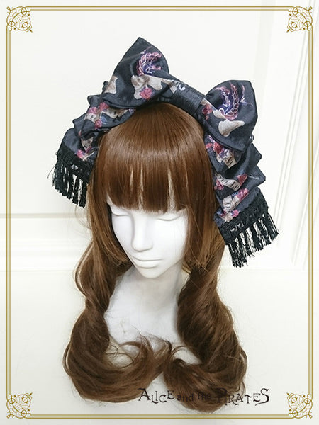 P13OH907 Starry Sky Lantern and the Treasure Island in My Dreams Headbow