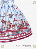 P13OJ206 Alice Wonder Car Chase Jumperskirt Ⅰ