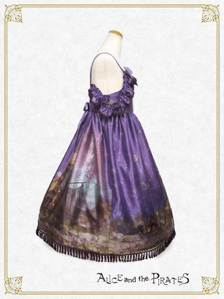 P13OJ214 Starry Sky Lantern and the Treasure Island in my Dreams Jumperskirt Ⅱ