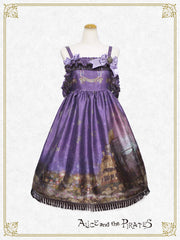 [RESERVATION] P13OJ214 Starry Sky Lantern and the Treasure Island in my Dreams Jumperskirt Ⅱ