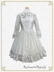 P13OP312 Antique Doll Shirt Onepiece Dress