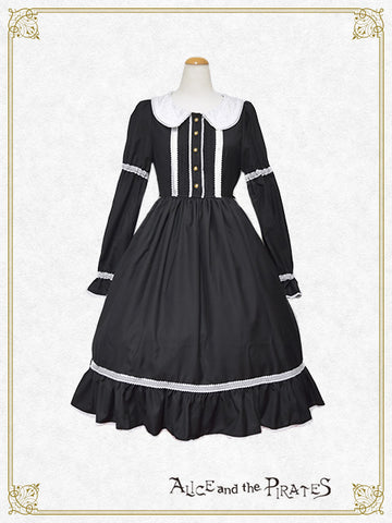P13OP338 Classical Maid Onepiece Dress