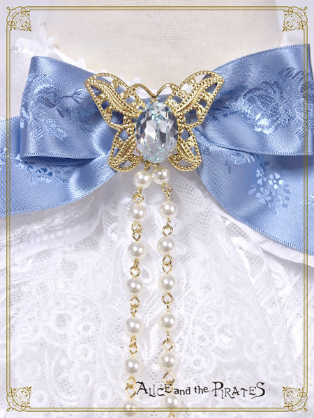 P13OT019 Little Prince Papillon lace Jabot