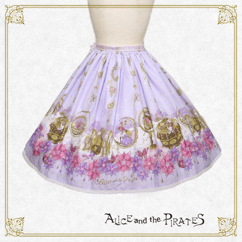 P13SK507 Alice and the Labyrinth of the Clockwork World Skirt