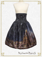 [RESERVATION] P13SK509 Starry Sky Lantern and the Treasure Island in my Dreams Skirt
