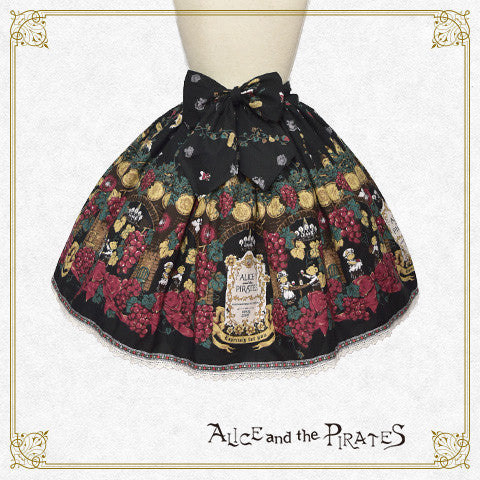 P13SK513 Château de Nounours ~ Angel and Secret Winery ~ Skirt