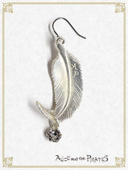 P14AC008 The END of Immortal EDEN Pierced Earrings