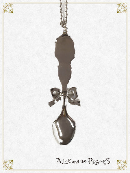 P14AC010 Silver Spoon of Blessing Necklace