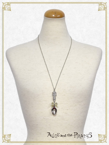 [RESERVATION] P14AC010 Silver Spoon of Blessing Necklace