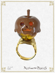 P14AC034 Halloween Apple Ring