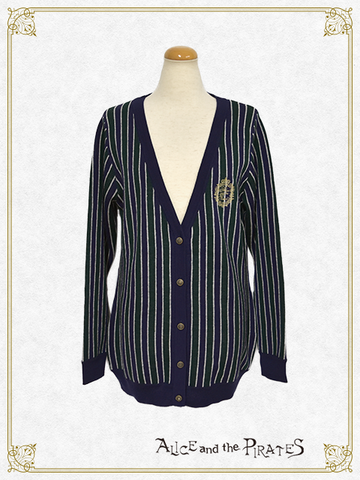 P14CD106 Regimental Stripe Cardigan