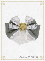 P14HA909 Rosier Empress Ribbon Barrette