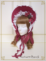 P14HA913 Rosary Ribbon Bonnet