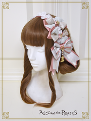 [RESERVATION] P14HA934 Jewel Ribbon Headbow