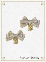 P14HA941 Glittery Ribbon Comb