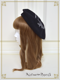 P14HA953 Logo Label Printed Beret