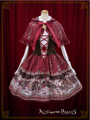[RESERVATION] P14OJ218 Le Petit Chaperon Rouge ~Maiden of the Dark Forest~ Jumperskirt & Cape Set