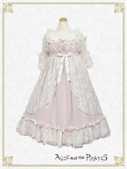 [RESERVATION] P14HC303 Angel and the Secret Flower Garden Onepiece Dress【MADE-TO-ORDER】