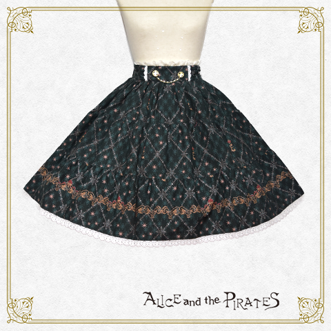 P14SK505 Elizabethe 〜Bride of the death〜 Three-stage Tiered Skirt