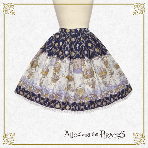 P14SK508 Alice and the Balloon World Skirt