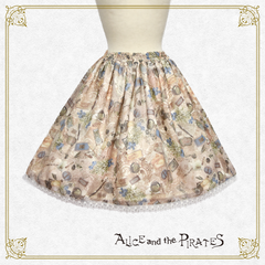 P14SK509 Porte Bonheur~Memory and Reunion with the Bouquet of the Lily of the Valley~Skirt