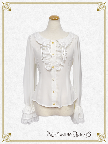 P15BL404 Anastasia Butterfly Collar Blouse
