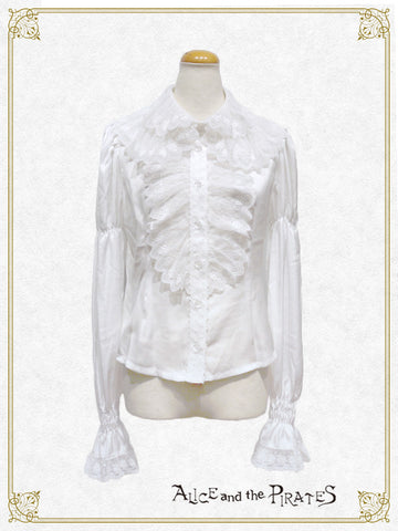 P15BL423 Cosette Lace Collar Blouse